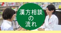 太田薬局、漢方相談の流れ